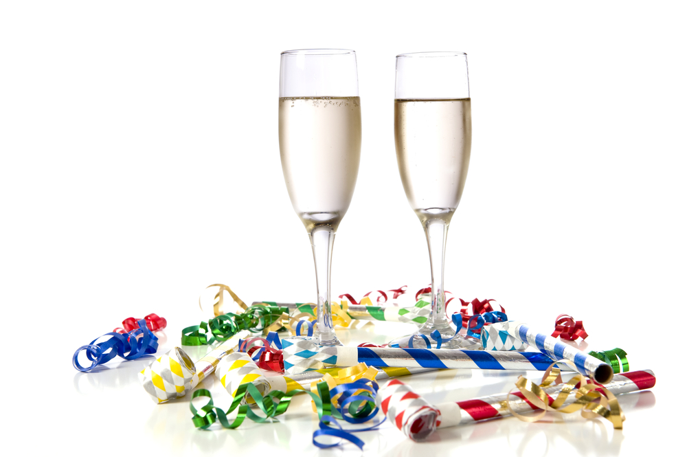 Cheers to you! Cheers to a great 2015 and bring on 2016! Image c/o dreamstime.com