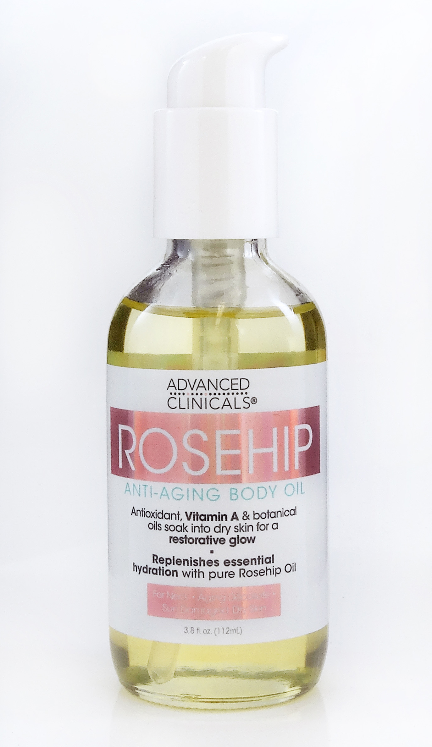 Rosehip Anti-Aging Body Oil 3 8oz — Advanced Clinicals