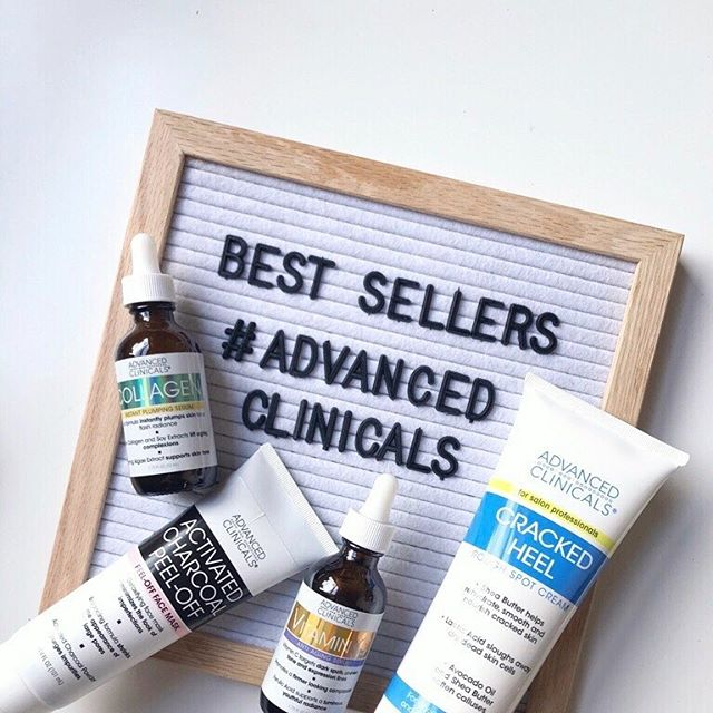 Mark your calendar, set 10 alarms, do whatever you need to do to make sure you don't miss this! From⠀ #BlackFriday through #CyberMonday, we'll be launching some very exciting (and very exclusive) #AdvancedClinicals product bundles, i.e. you can shop a complete skin care routine in just 👏 one 👏 click 👏. Stay tuned for more info soon!⠀