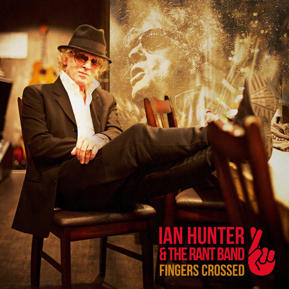 Ian Hunter Fingers Crossed sleeve
