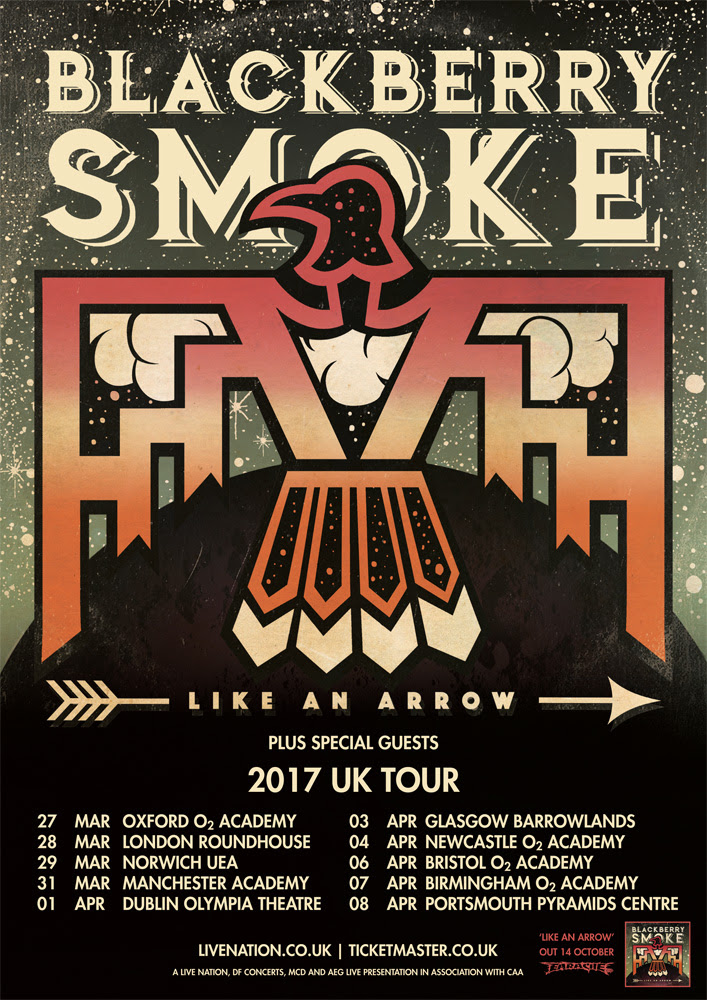 Blackberry Smoke UK tour