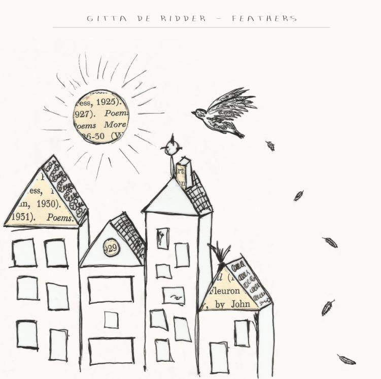 Gitta De Ridder Feathers album sleeve