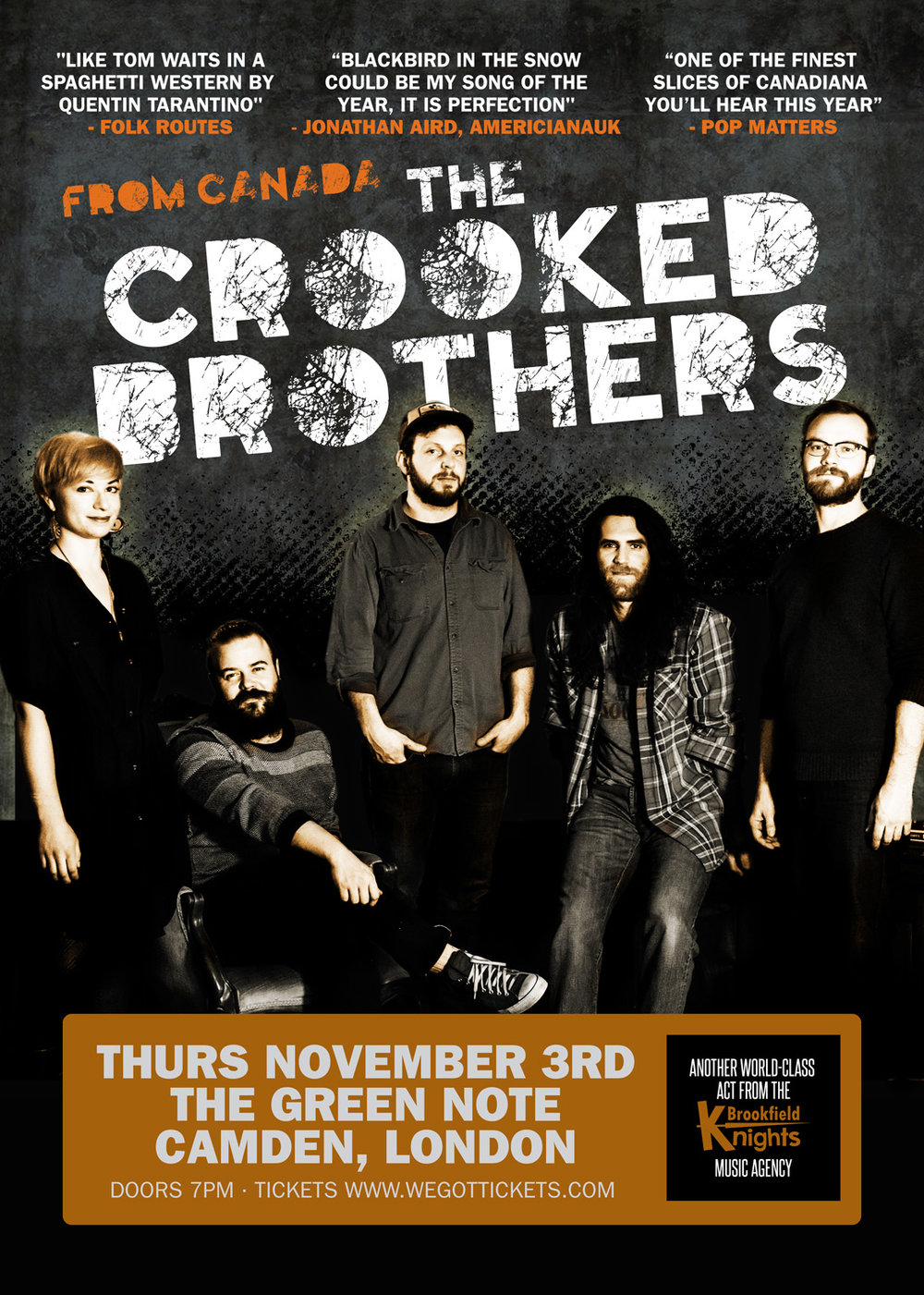 Crooked Brothers London