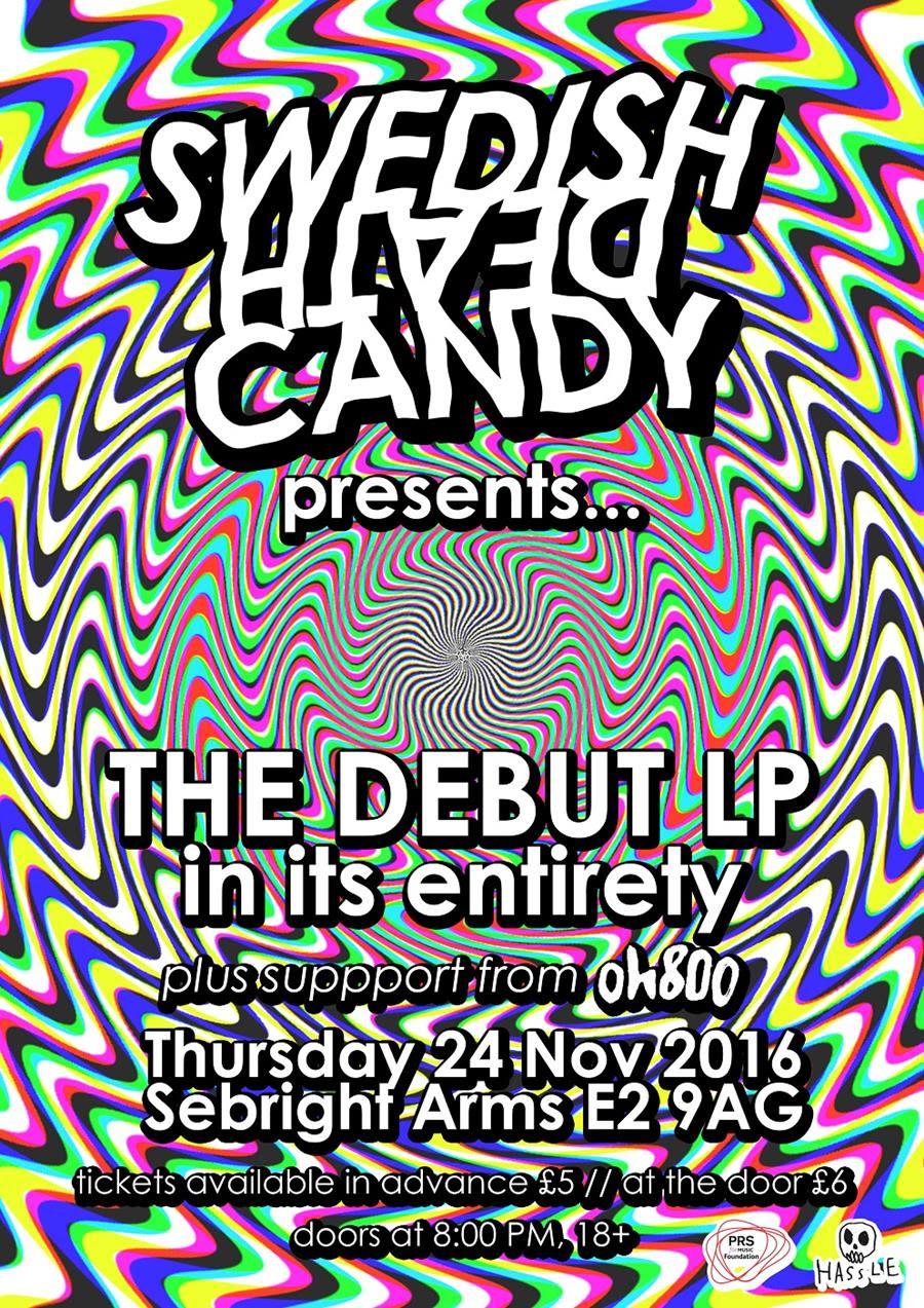 Swedish Death Candy London show