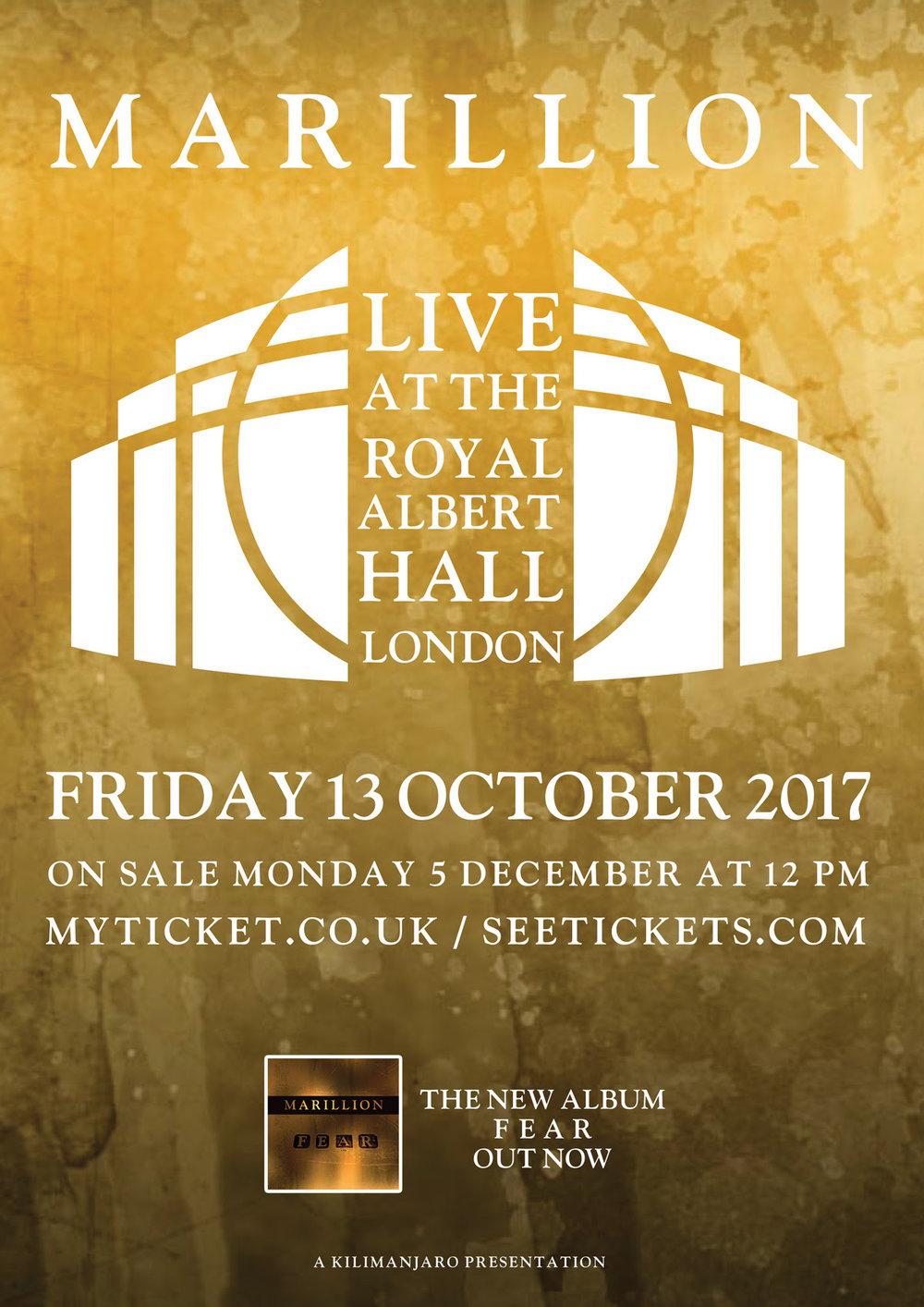Marillion Royal Albert Hall