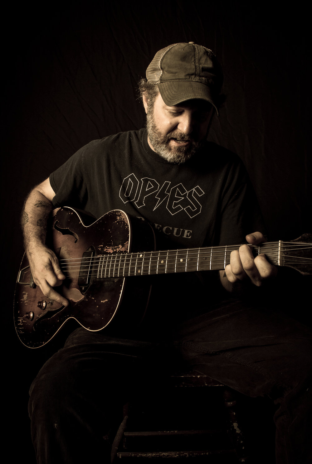 Scott H. Biram photo by Christopher Cardoza
