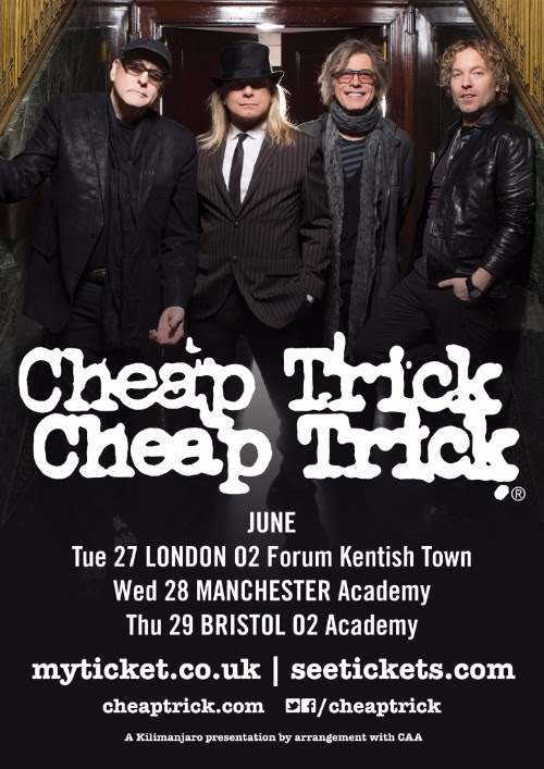 Cheap Trick 2017 UK Tour