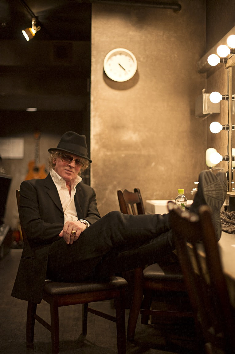 Ian Hunter pic by Ross Halfin