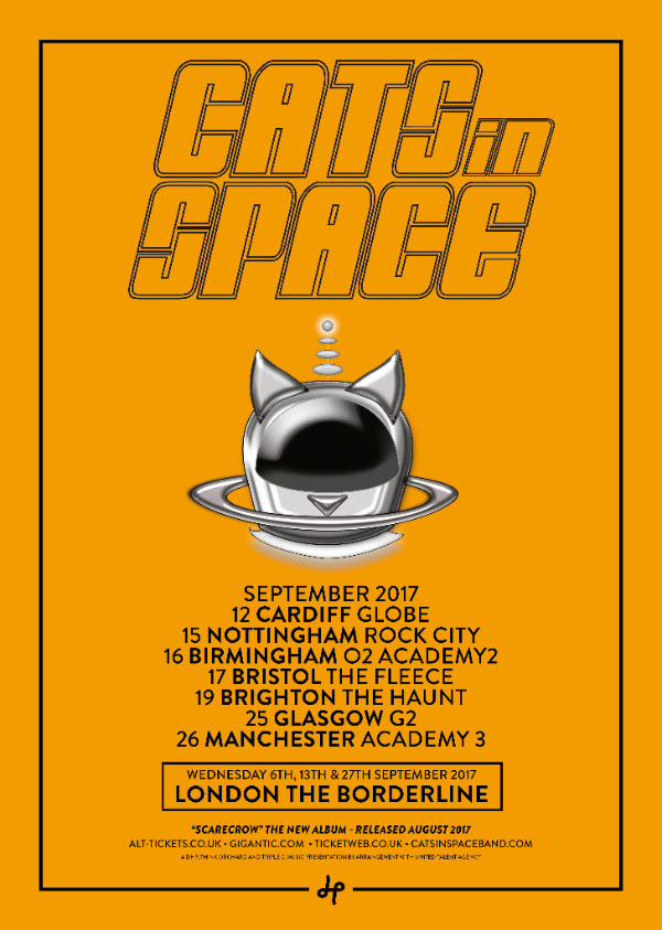 Cats In Space tour 2017