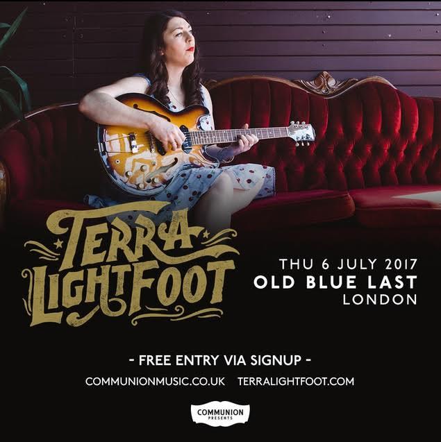 Terra Lightfoot London 2017