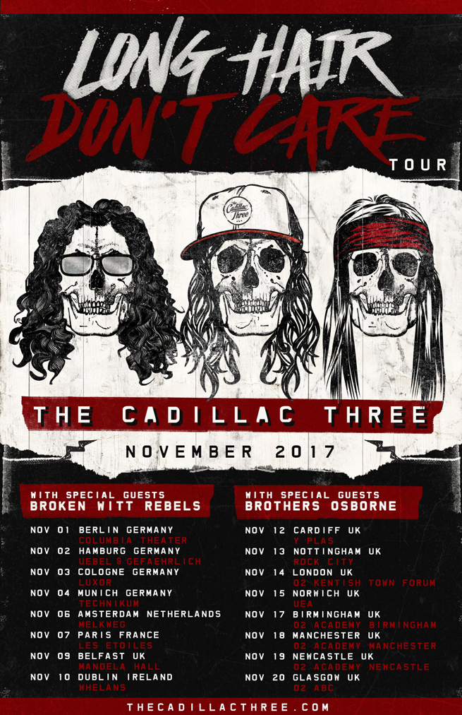 The Cadillac Three UK Tour