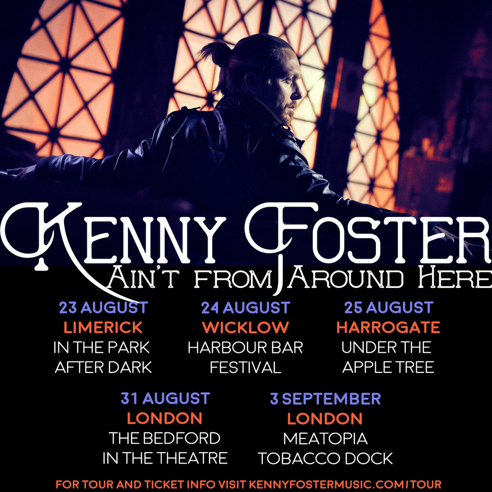 Kenny Foster UK tour