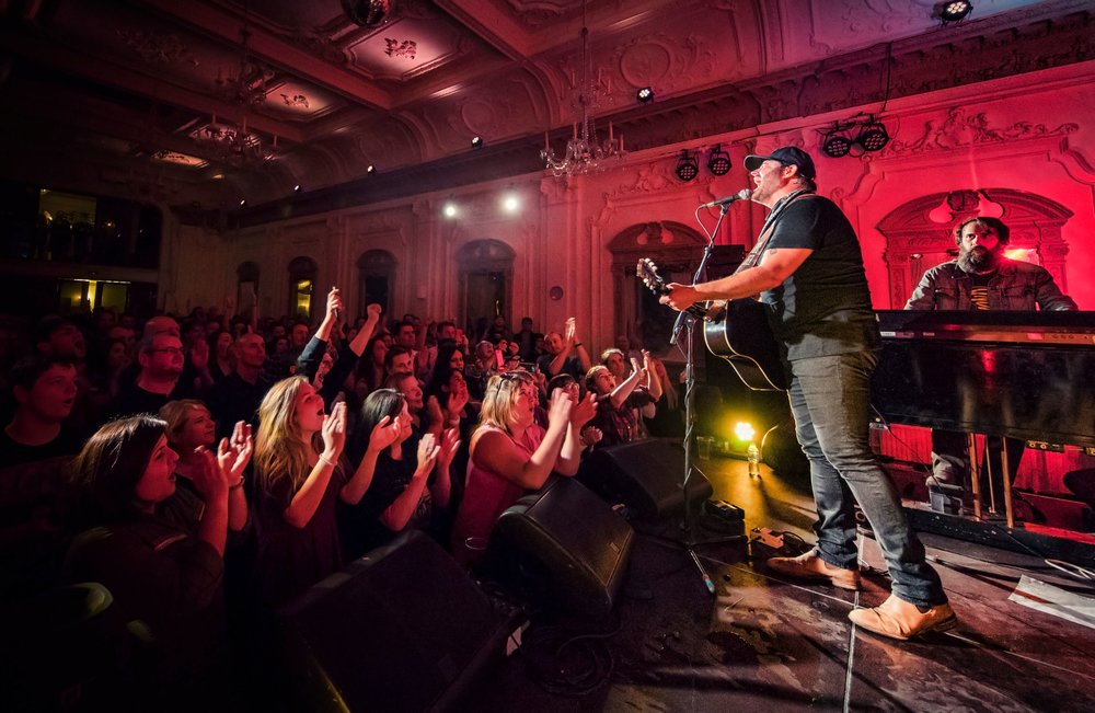 Randy Houser @ Bush Hall, London by Anthony D'Angio