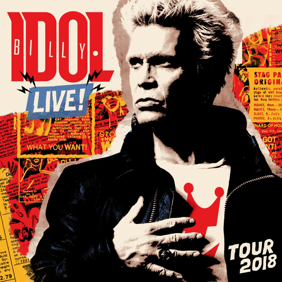 Billy Idol Live! Tour 2018