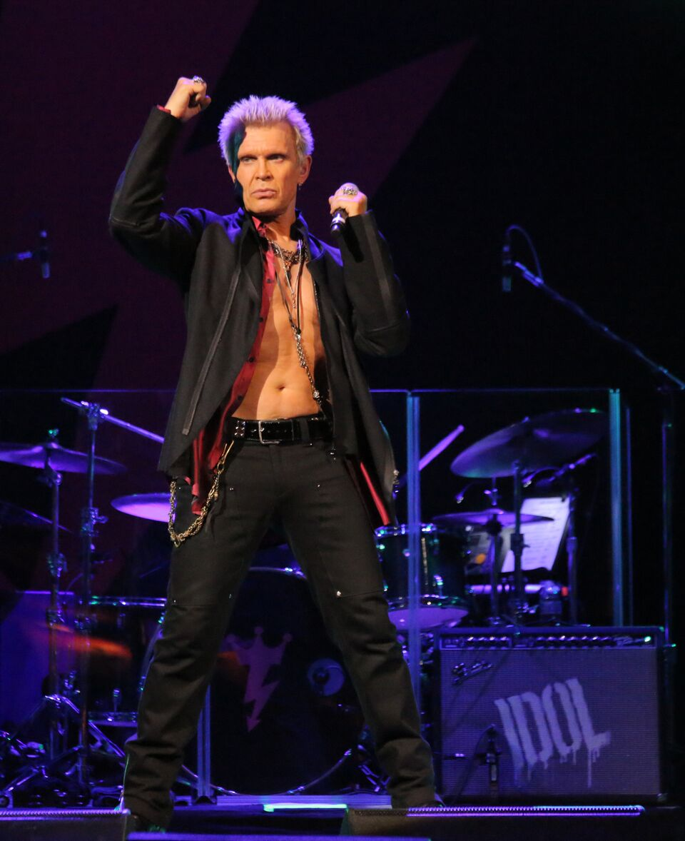 Billy Idol pic by Edison Graff.