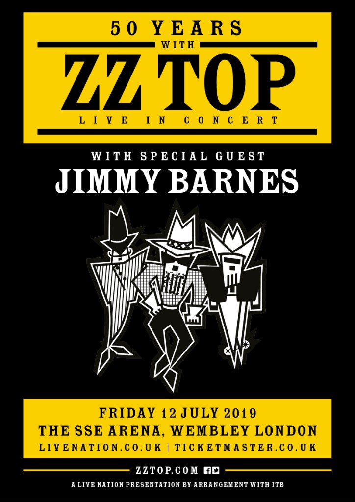 50 Years With Zz Top European Tour Announced For 2019 Red Guitar Music