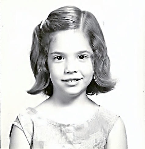 This is Martha at about age 6. In spite of appearances, she was a happy child.