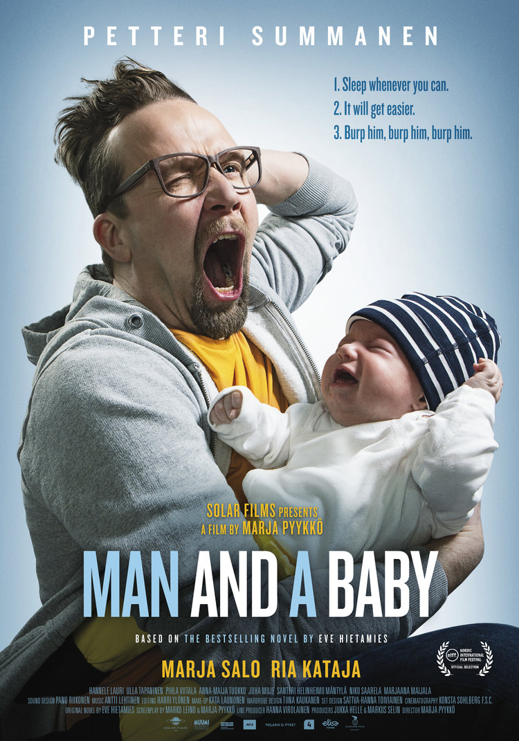 Man and a baby, Comedy, 2018