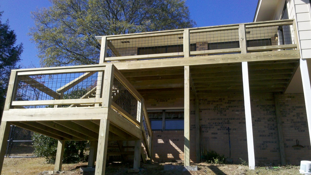 Custom Deck Missionary Ridge
