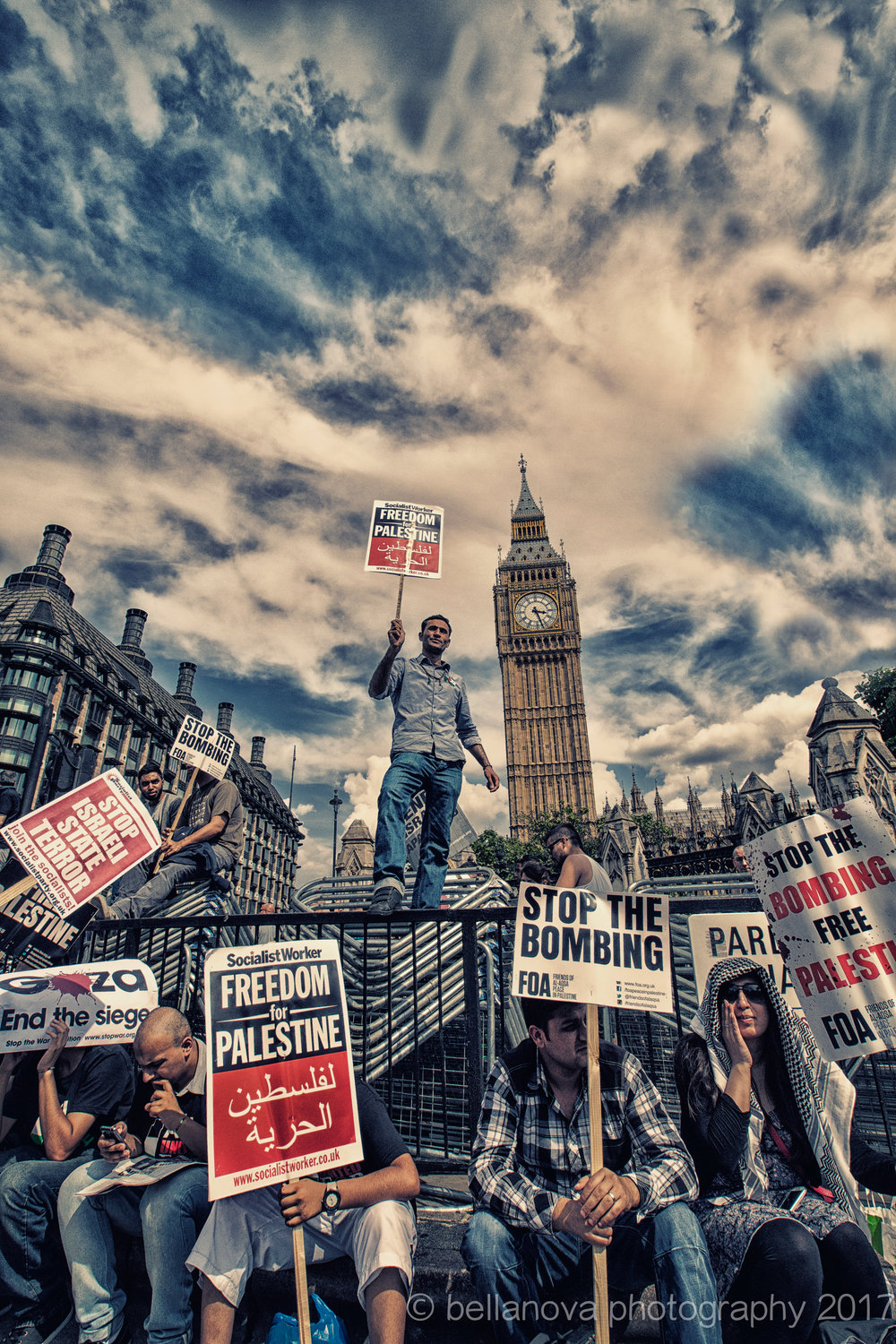 London protests for Palestine. Cassy Paris.jpg