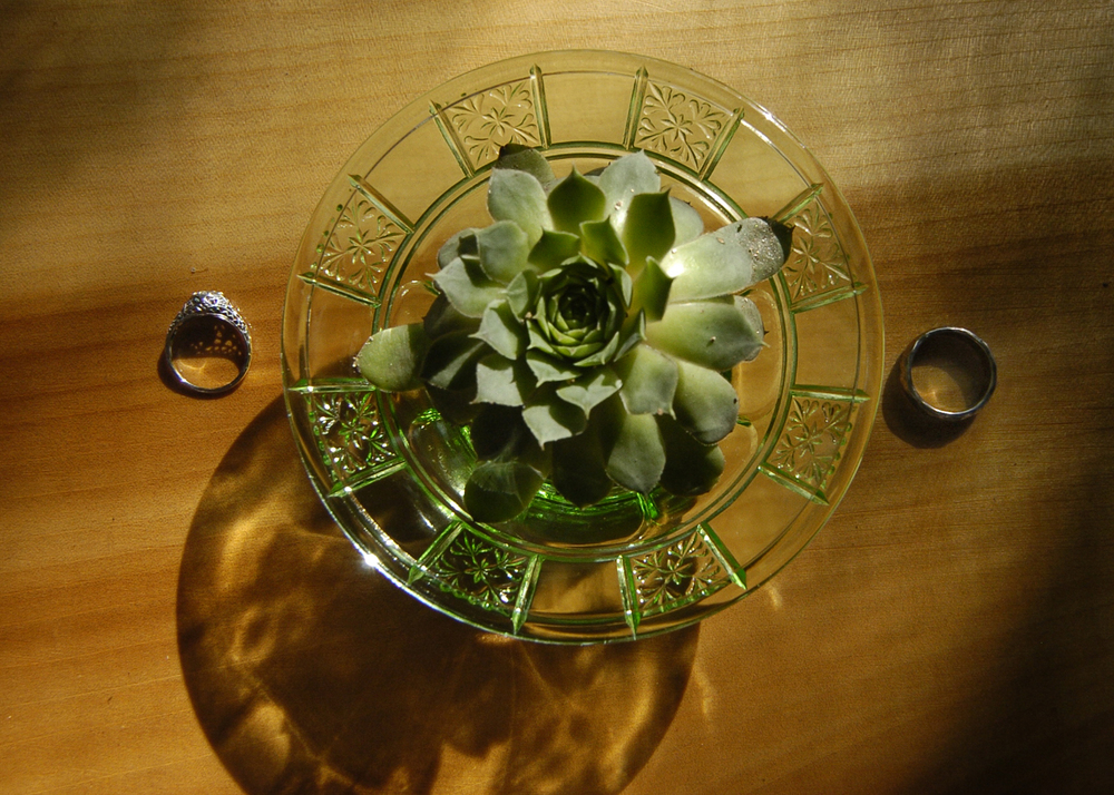 Vintage Depression glass rentals