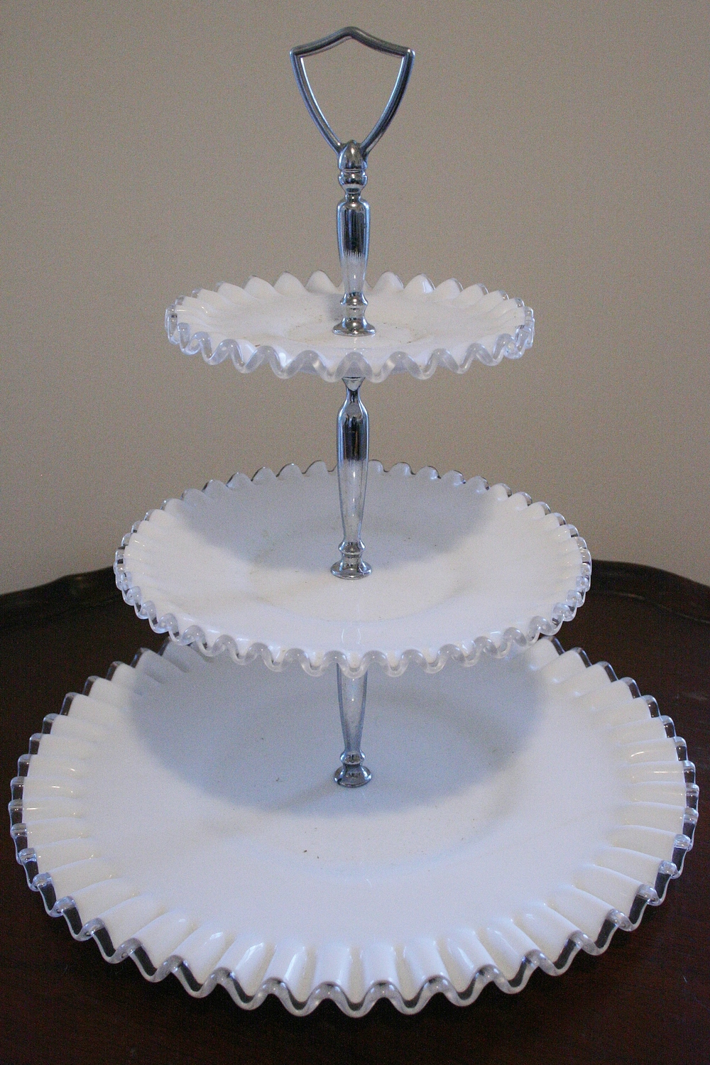 3 Tiered Fenton Food Display