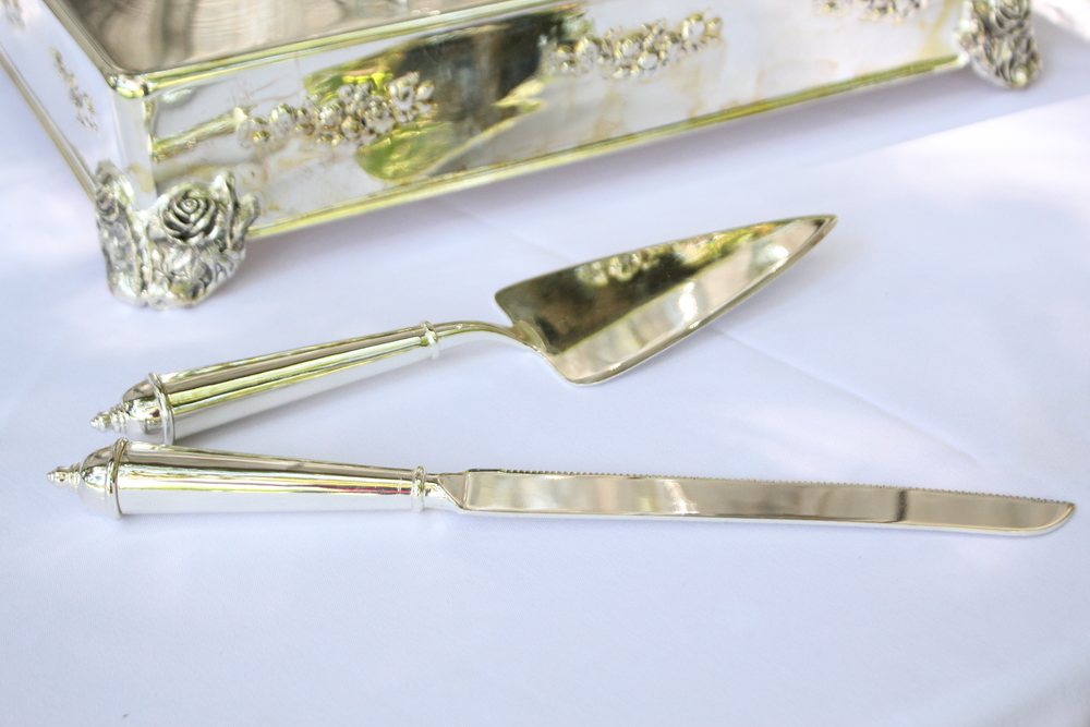 Silver Cake Knives