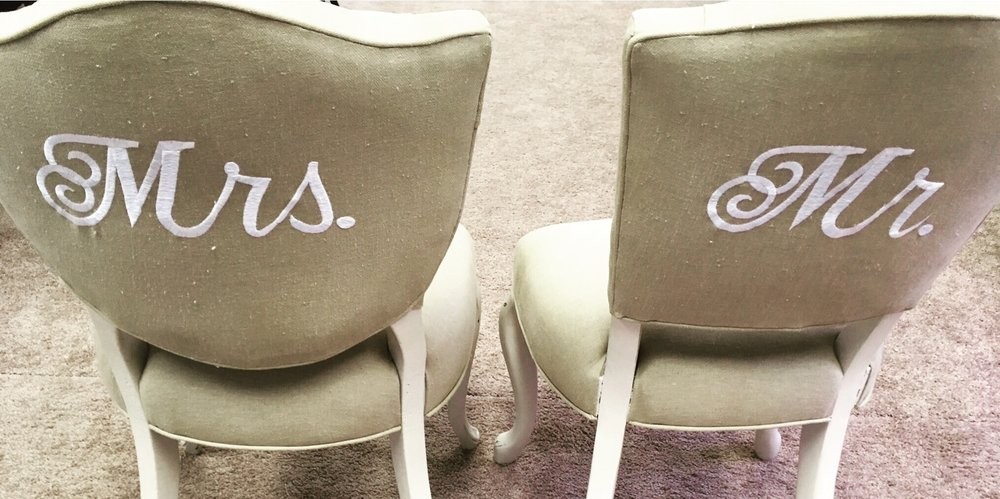 Mrs. and Mr. Chairs