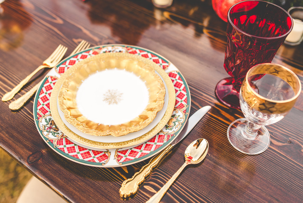christmas styled shoot - gold china.jpg