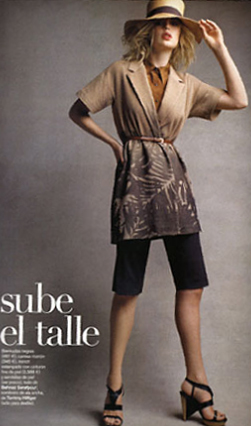 Behnaz Sarafpour - Spanish Vogue - March 2008