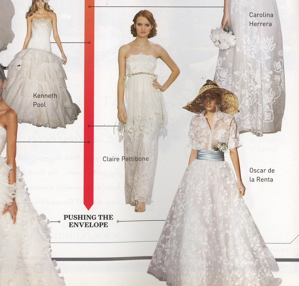 Oscar de la Renta - Brides New York Magazine - Fall/Winter 2008