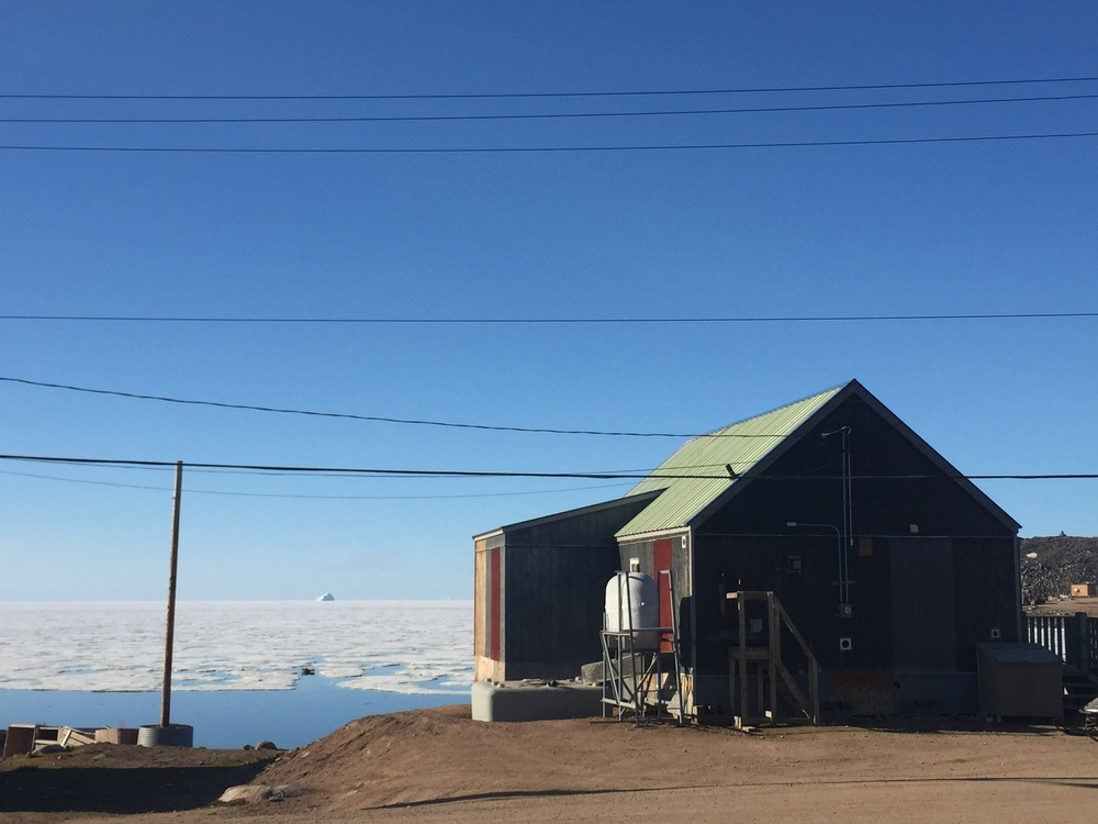 """""""Our House"""" in Qik - the Parks Canada Staffhouse"""