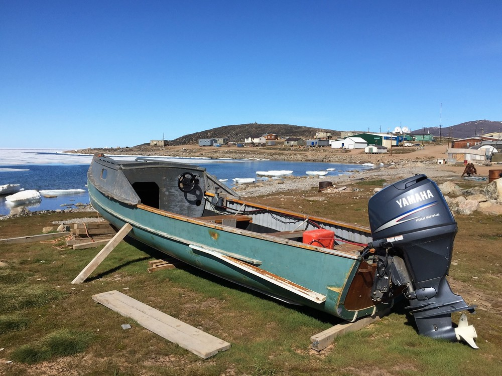 An Arctic Freighter Canoe