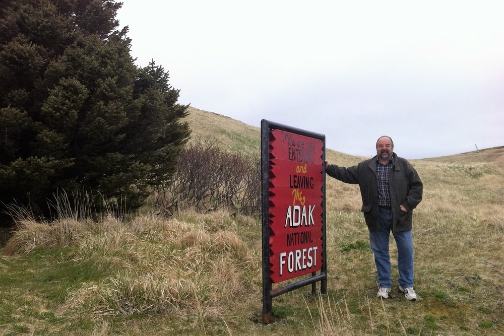 Adak in The Aleutian Islands