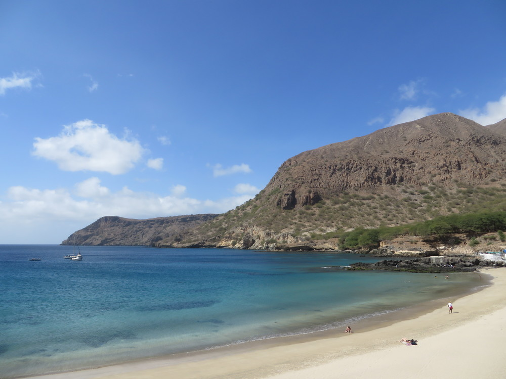 The Beach at Tarrafal, Cabo Verde