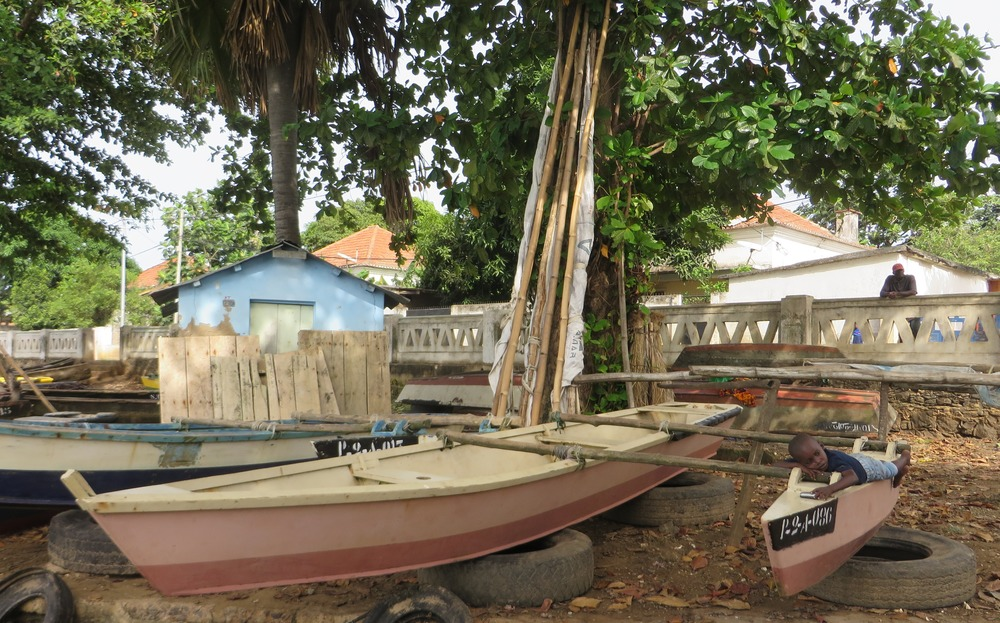 The Fishing Fleet - Sao Tome e Principe