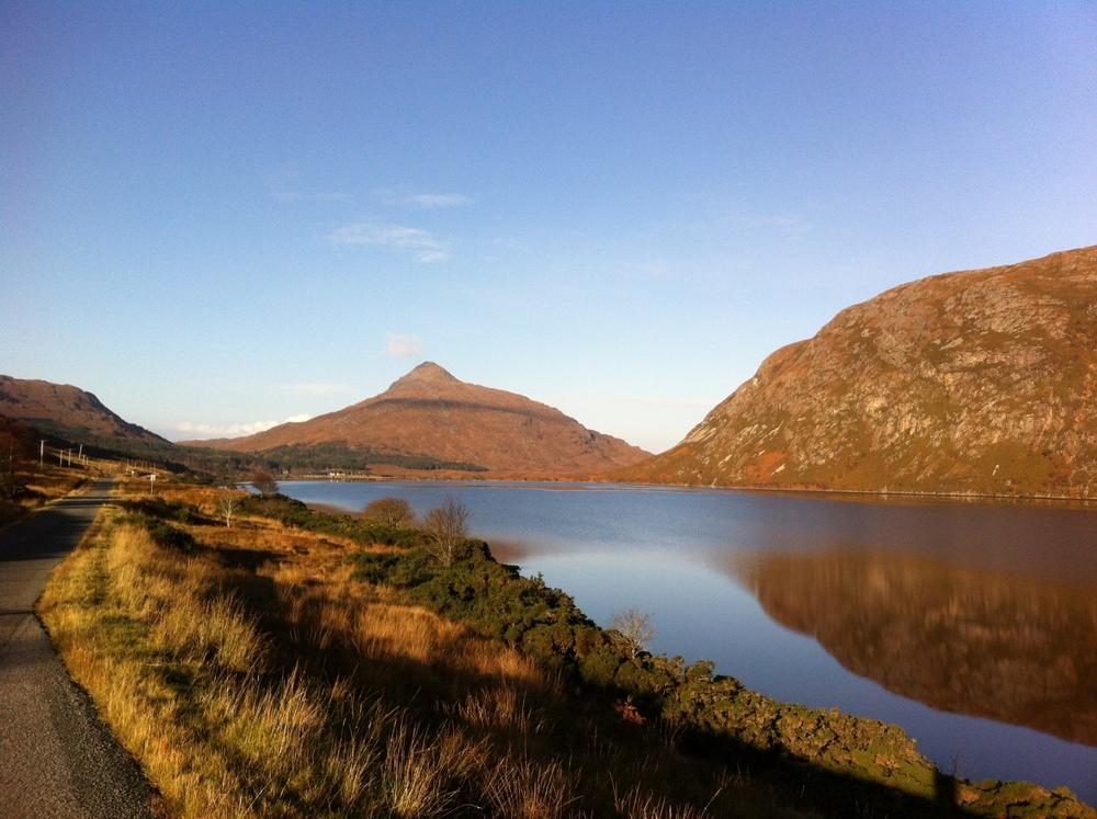 Sutherland, Scotland in November