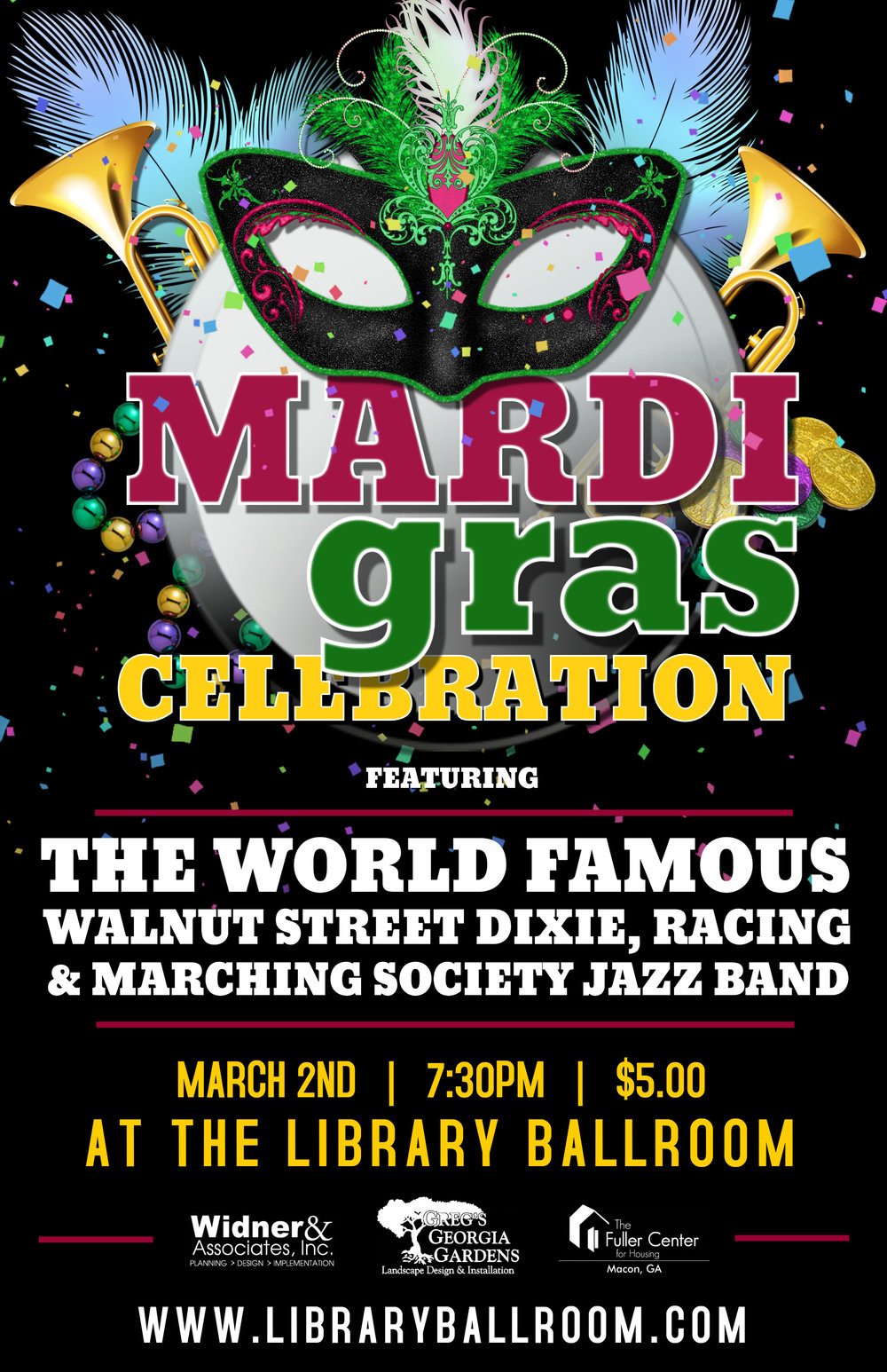 Mardi Gras with Walnut Street Society Jazz Band - Library Ballroom - March 2.jpg