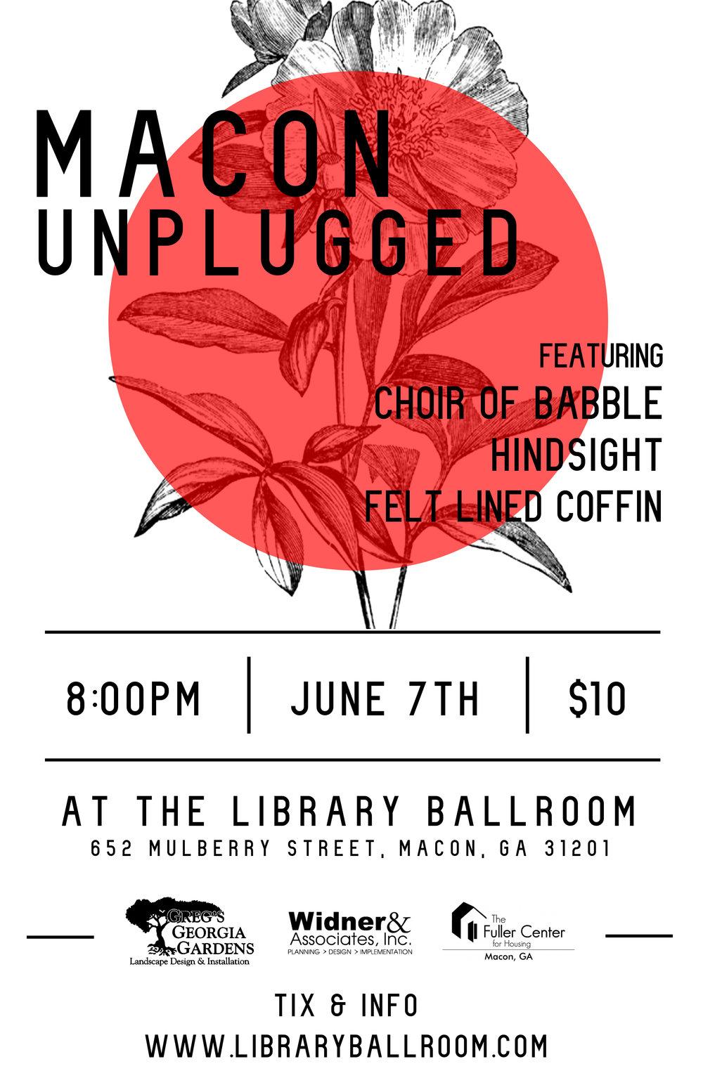 Macon Unplugged - Library Ballroom - June 7th.jpg
