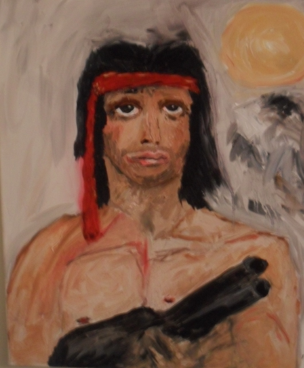 "N oah Charles Weissman- ""  Adrian  "" (oil: 16 x 20')"