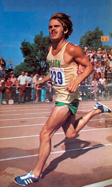 never stop running. prefontaine mustache commander of beaver nation