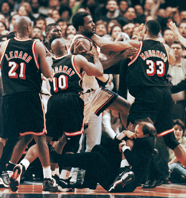 jefft van gundy holding on for dear life.