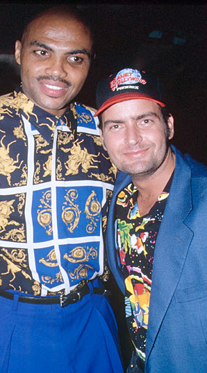 charlie sheen and charles barkley
