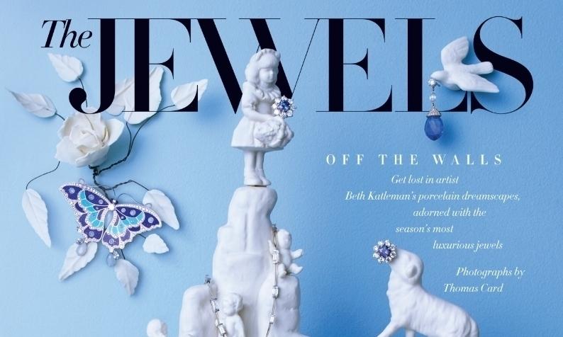 Harper's Bazaar x Beth Katleman