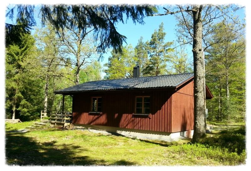 Mats Stuga (2-4 Pers.) Mit Kinderspielhaus und großen bewaldeten Garten (1300m2).