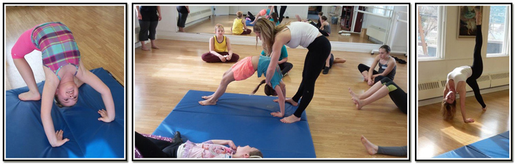 Acro Arts with Bronwen Kettleson.