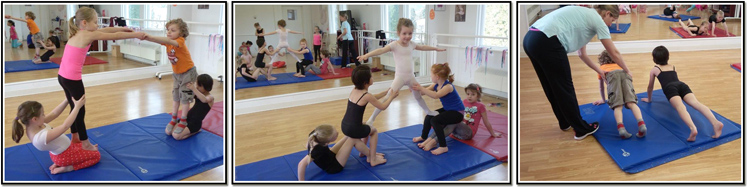Acro Gymnastics with Heather Beech.