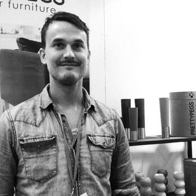 Prettypegs founder Mikael Söderblom