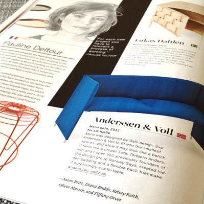 Dwell magazine Tiffany Orvet byline