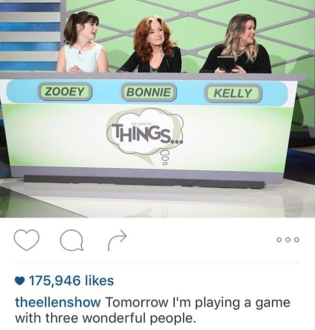 @thegameofthings will be gracing @theellenshow with its humour Today. #ThingsYouDontWanttoMiss